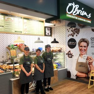 OBriens in Oasis Of Taste