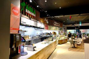 Abrakebabra, Bagel Factory and OBriens in Oasis Of Taste, Bridgewater Shopping Centre, Arklow